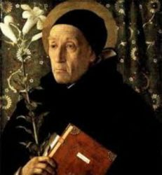 Picture of a Dominican Master (Thomas Aquinas or Eckhart)